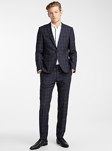 Henry Griffin check suit