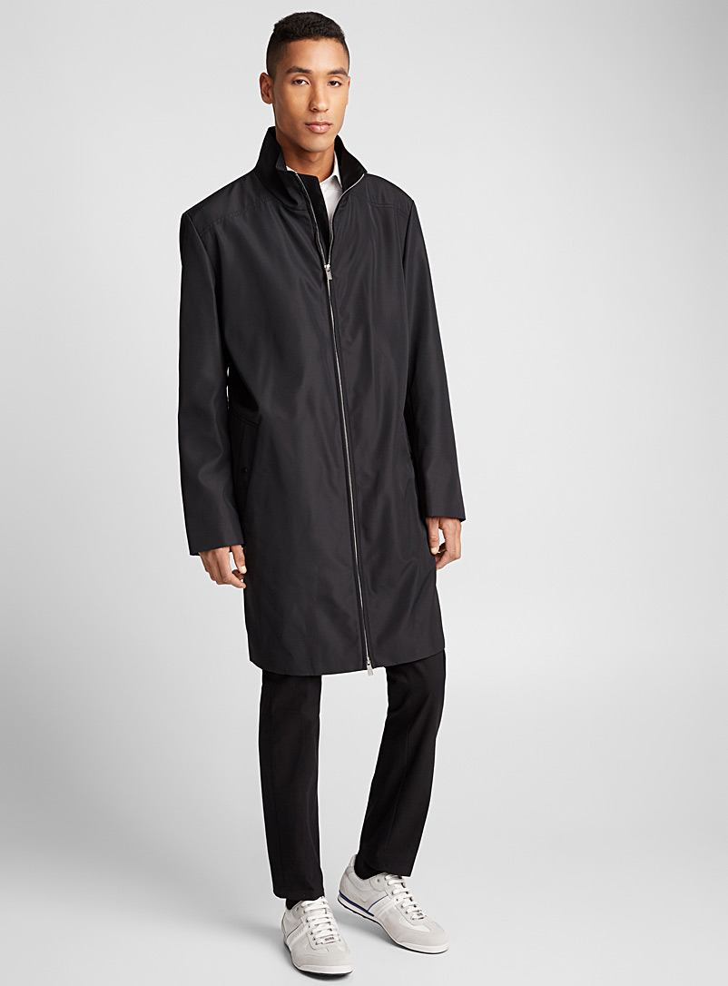 Moltedo waterproof coat - Hugo Boss - Black