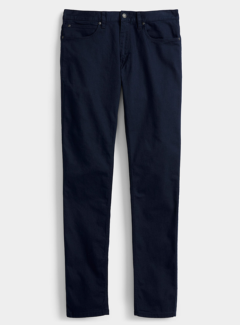 HUGO Marine Blue Very slim fit jean for men