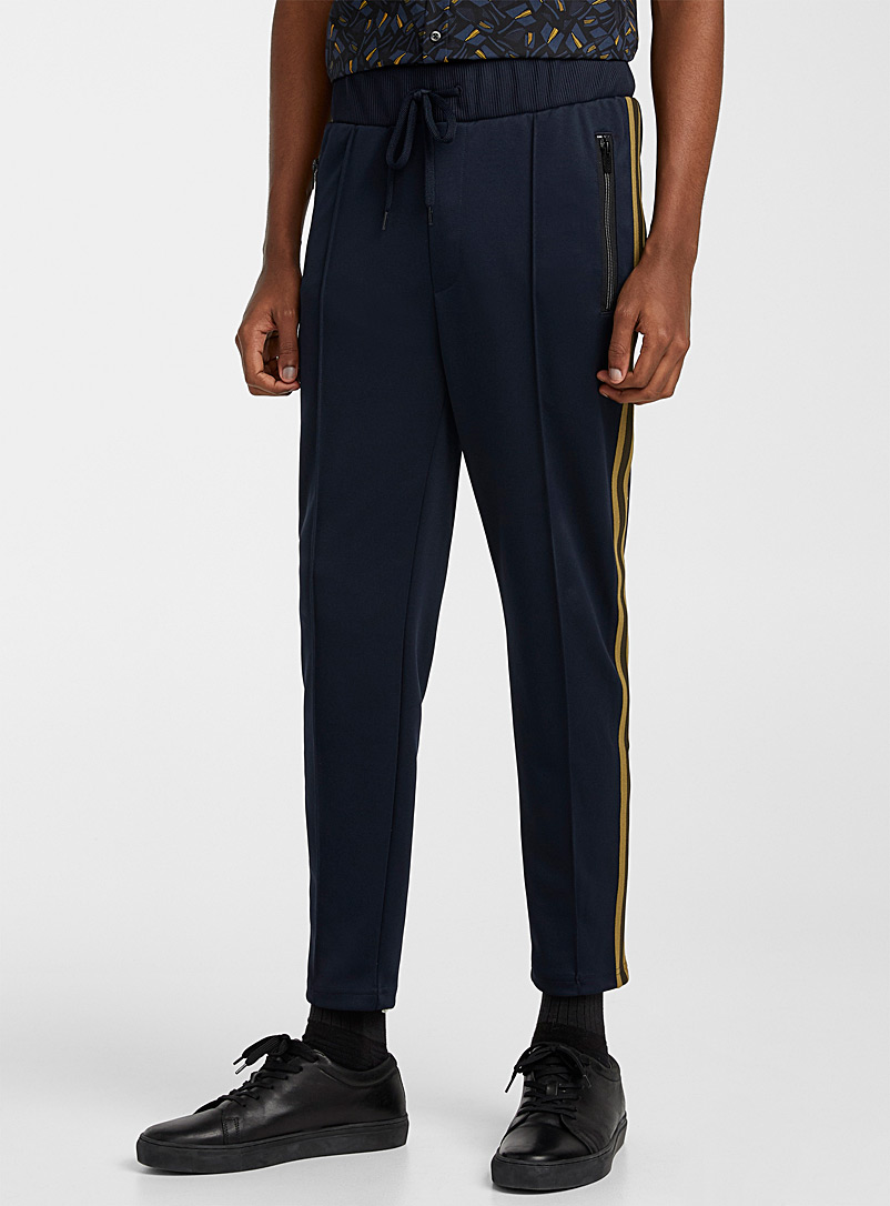 HUGO Dark Blue Dablon joggers for men