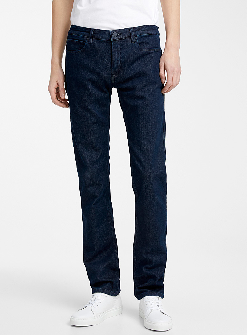 HUGO Dark Blue HUGO 708 skinny jean for men