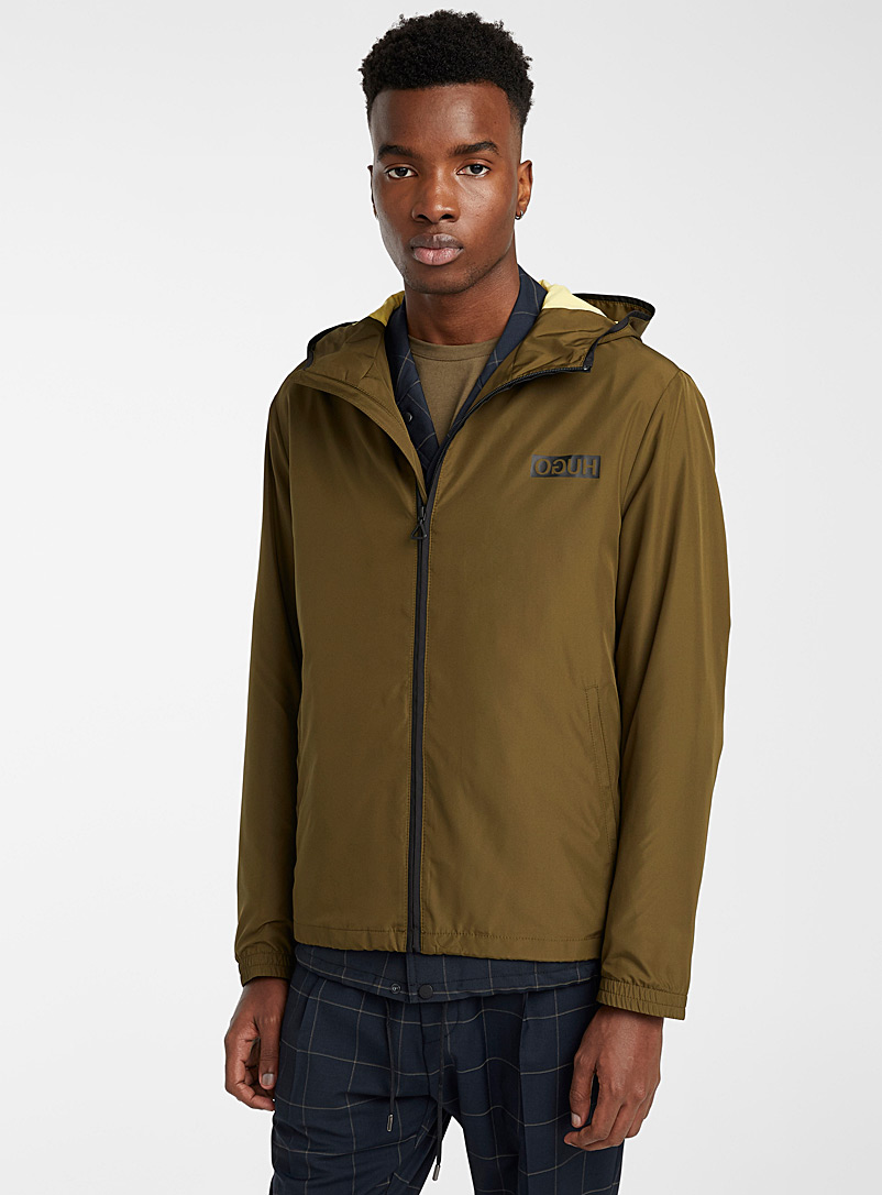 HUGO Mossy Green Ben jacket for men