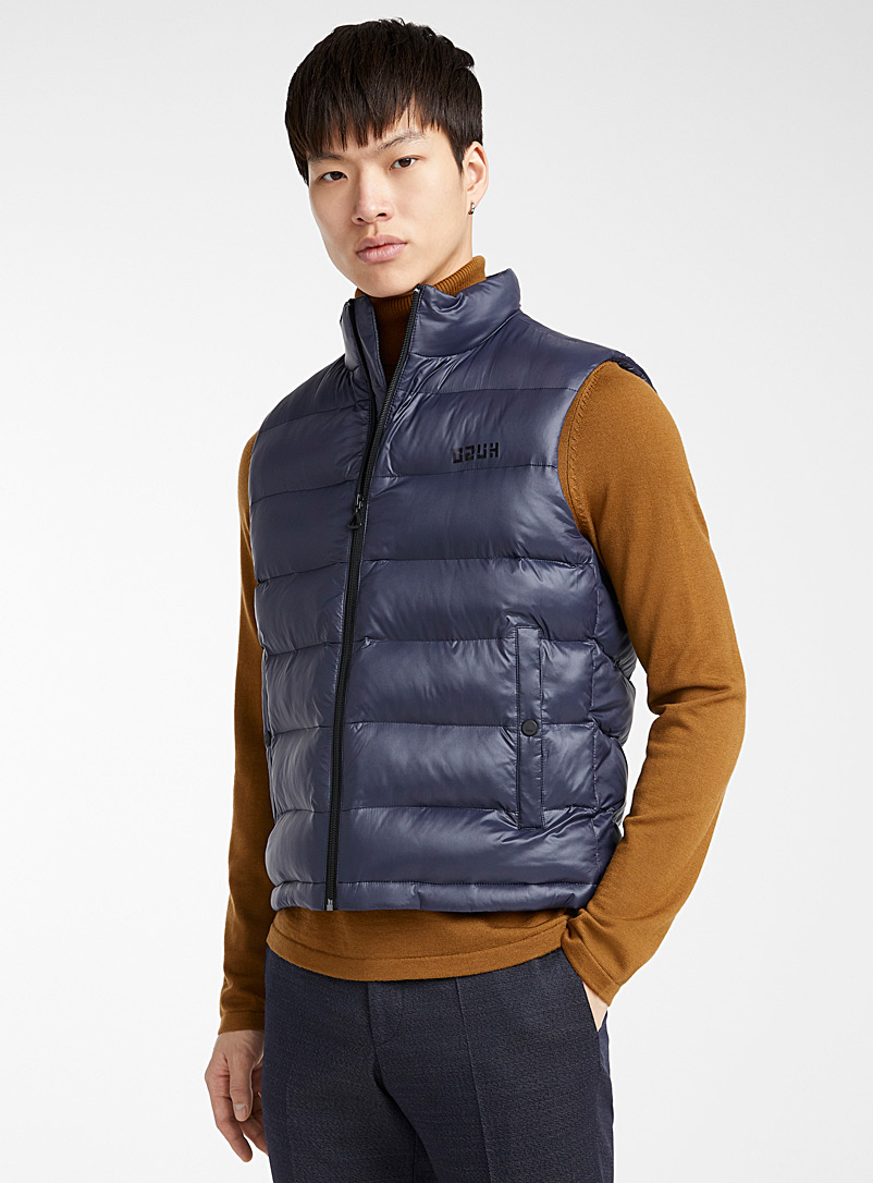 HUGO Dark Blue Baltino jacket for men