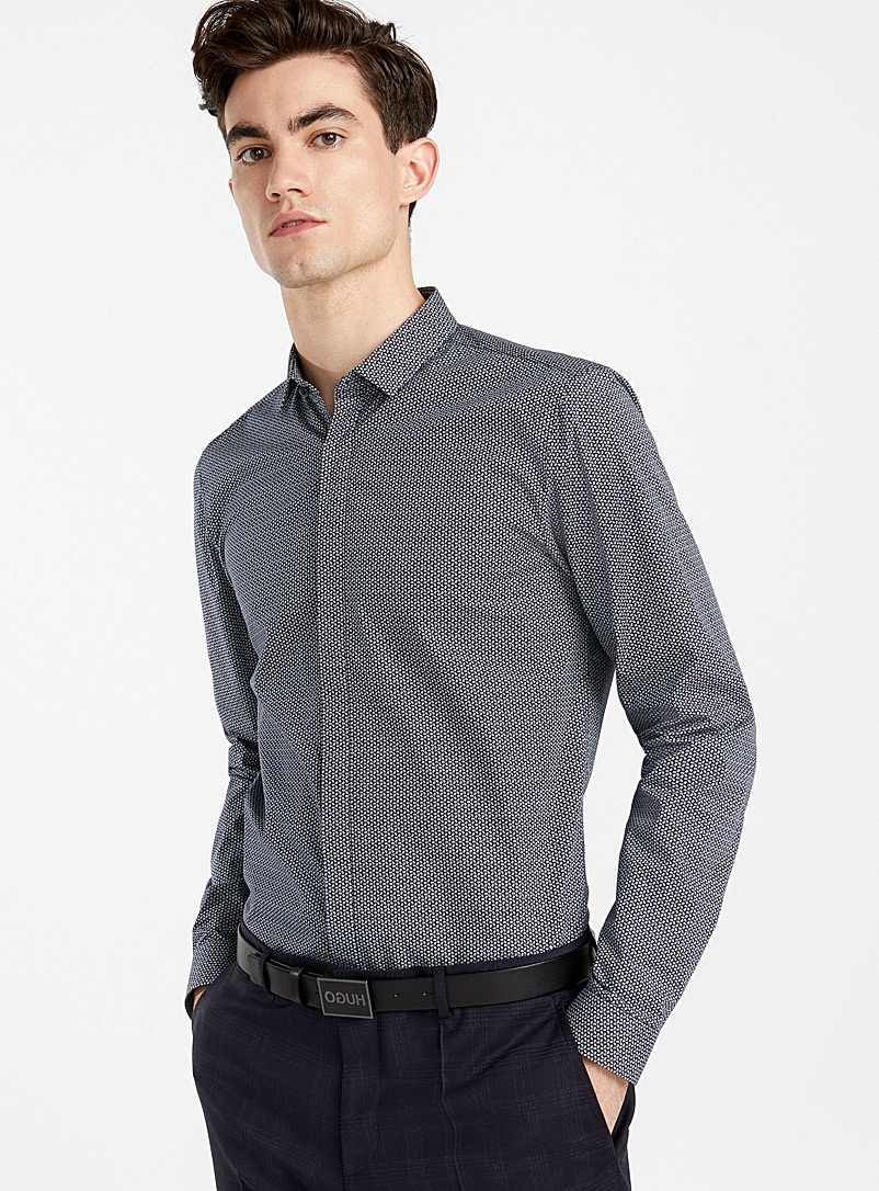 Etran shirt - Hugo Boss - Marine Blue