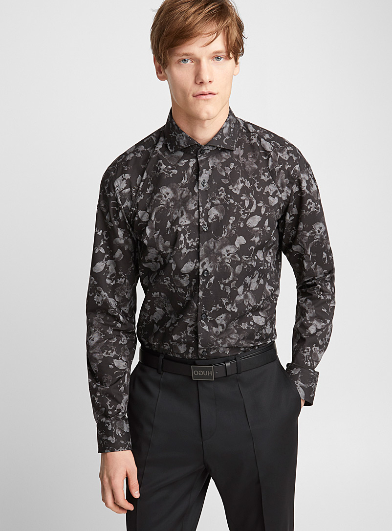 Kason shirt - Hugo Boss - Black