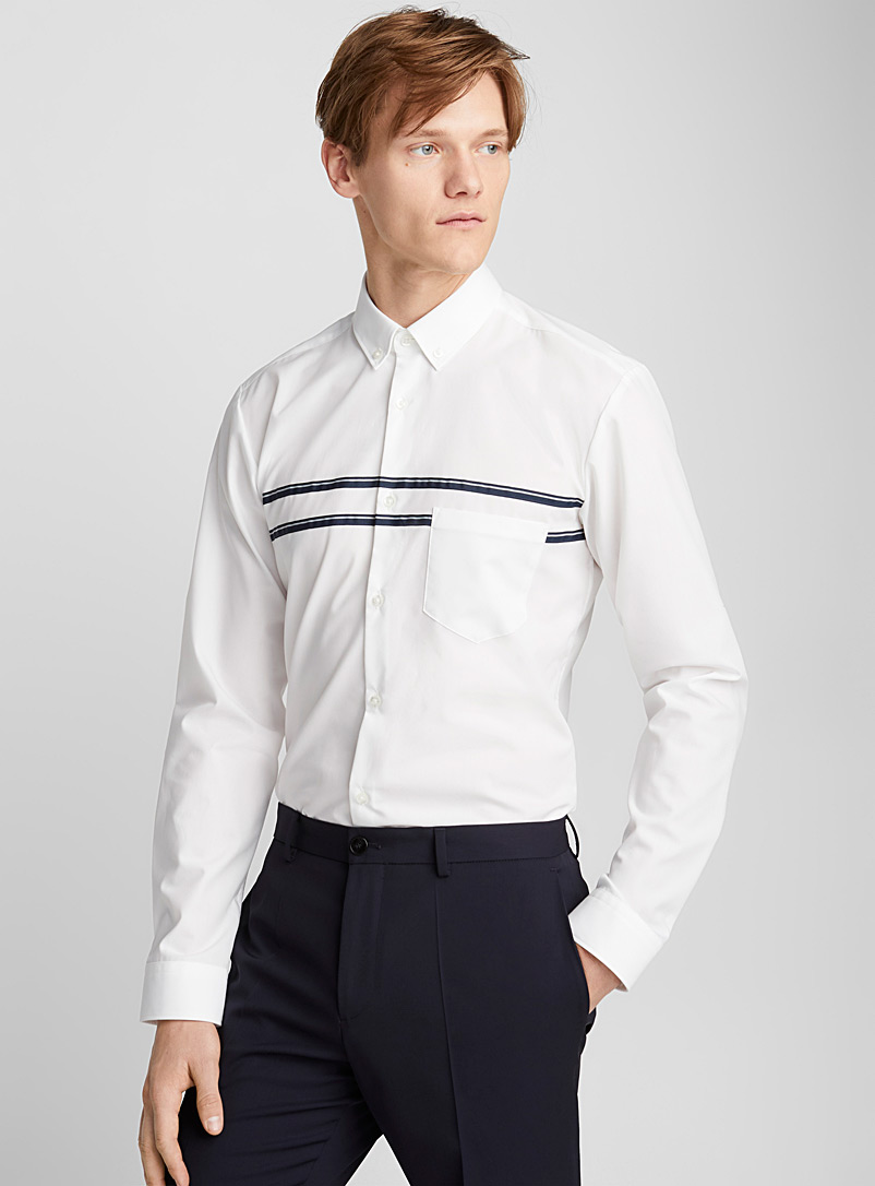 Ezra shirt - Hugo Boss - White