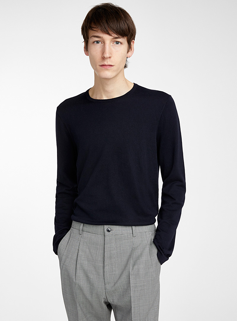 San Bastio sweater - Hugo Boss - Marine Blue