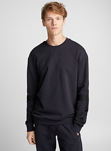 Tone-on-tone band sweatshirt