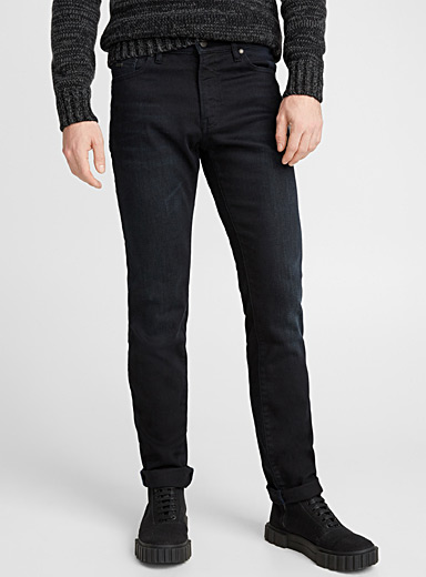 Dark indigo jean  Straight fit