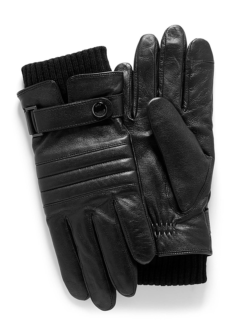 techno-leather-gloves