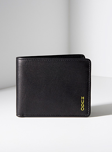 Yellow accent wallet