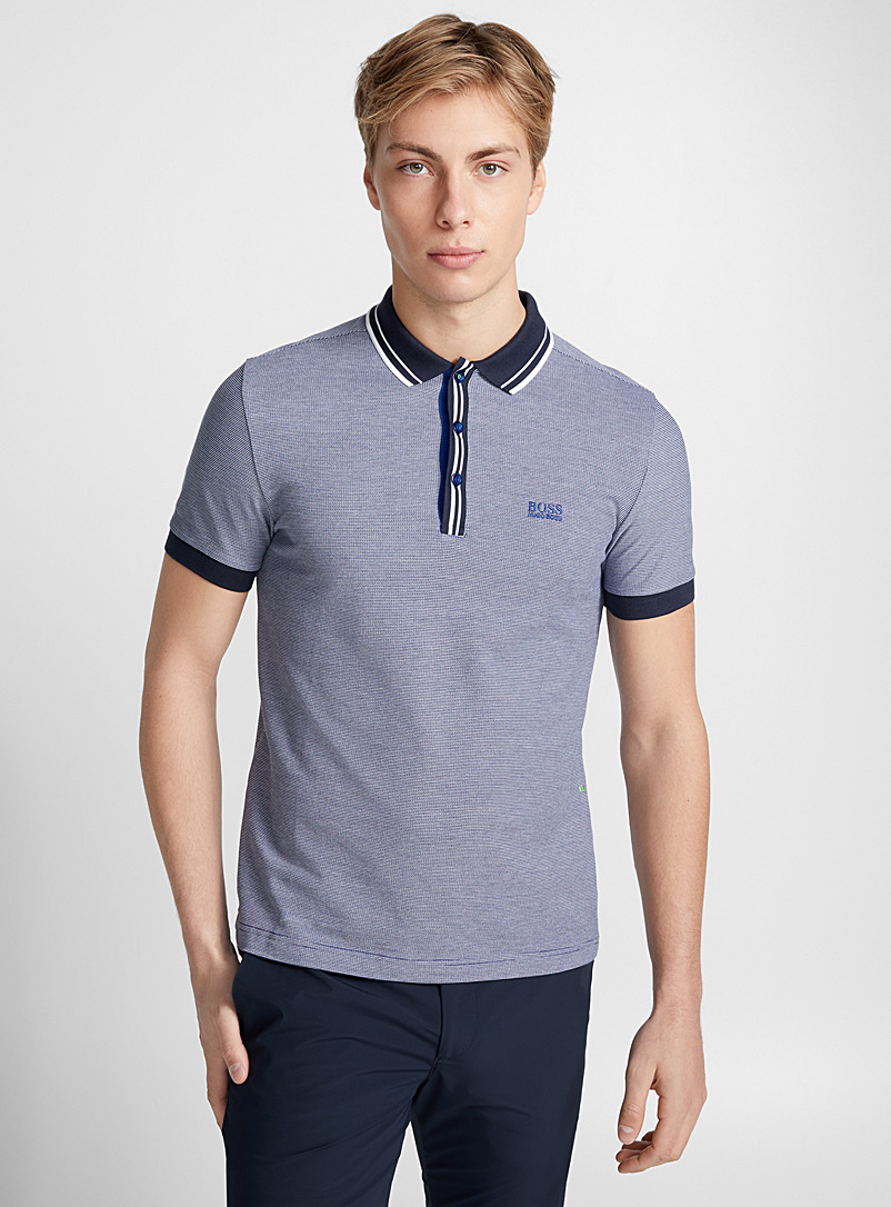 three-tone-jacquard-polo