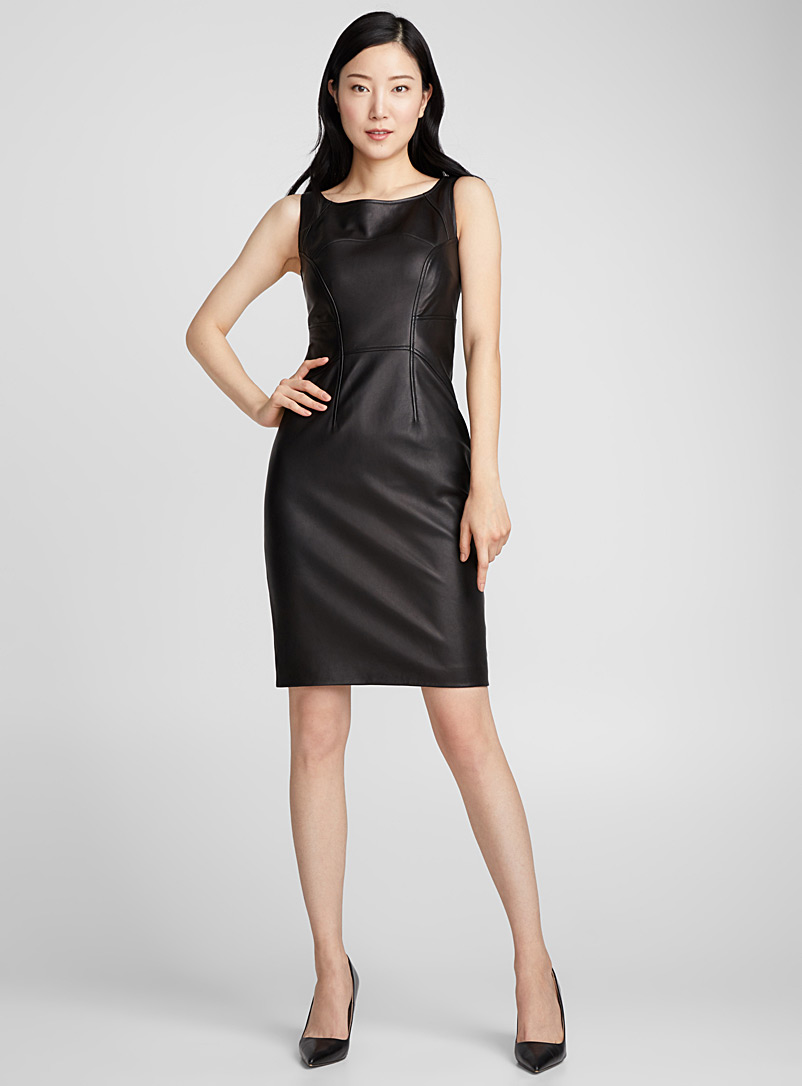 lirana-fitted-leather-dress