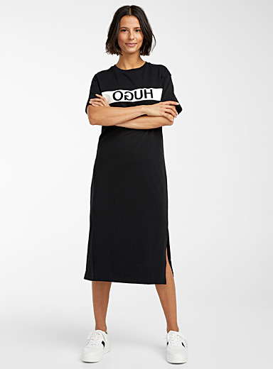 Neyleta logo band dress