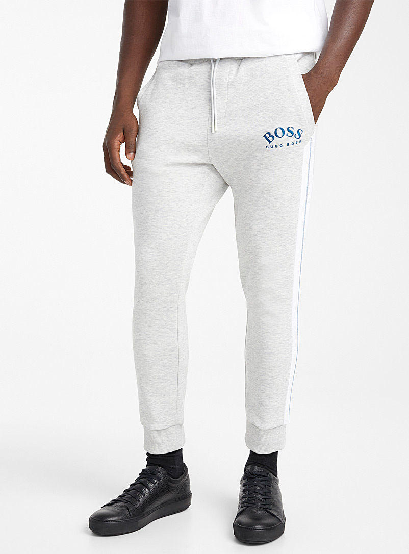 BOSS Grey Hadiko joggers for men