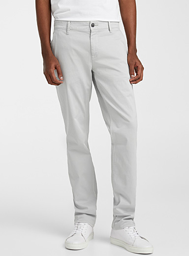BOSS Grey Schino Regular pant for men