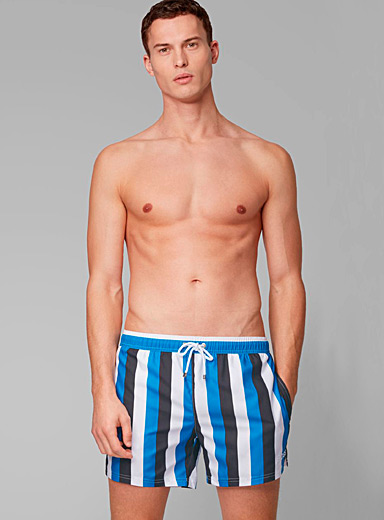 Vertical triptych swim short