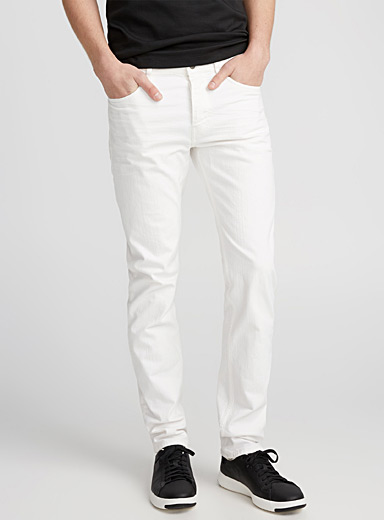Off-white stretch jean  Skinny fit