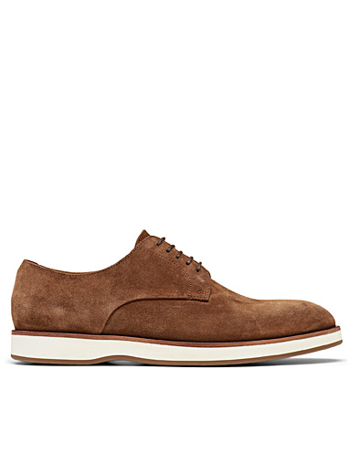 Oracle hybrid derby suede shoes Men