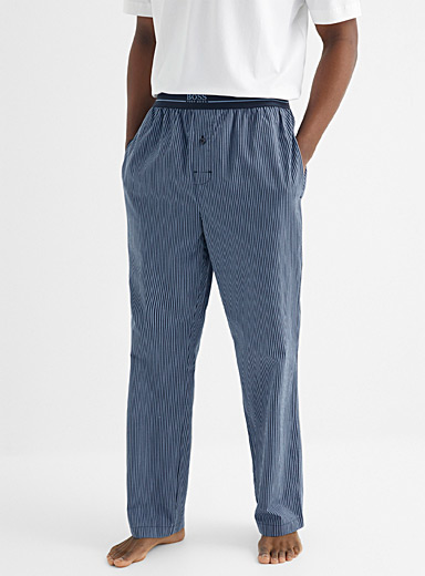 Oxford stripe lounge pant