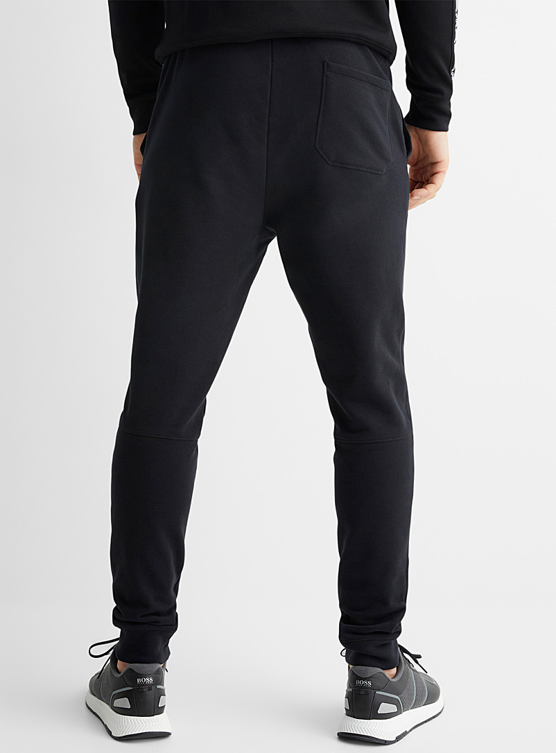 BOSS Black Skeevo terry-lined joggers for men