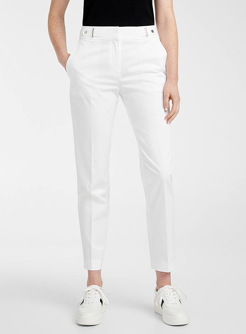 HUGO White Haloni white pant for women
