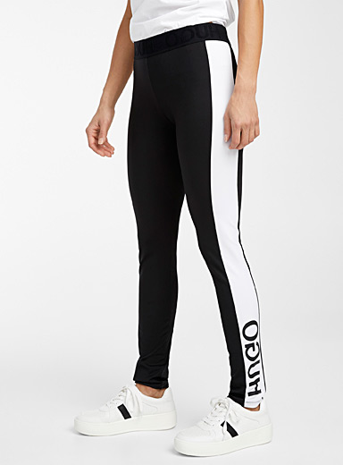 Noury contrast band legging