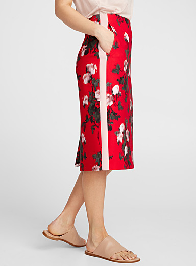 Rianas floral mirage skirt