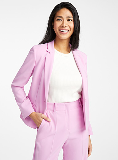 Arellas orchid cropped jacket