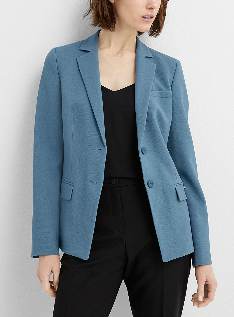 HUGO Blue Atikas piqué jacket for women