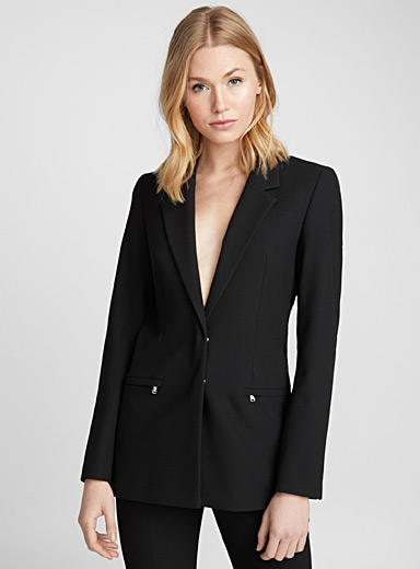 Aianna modern textured jacket
