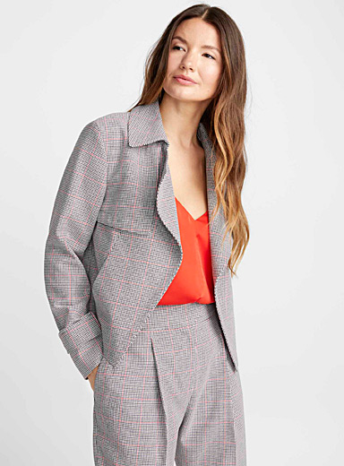 Anotta check blazer