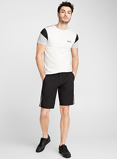 Athletic fabric Bermudas