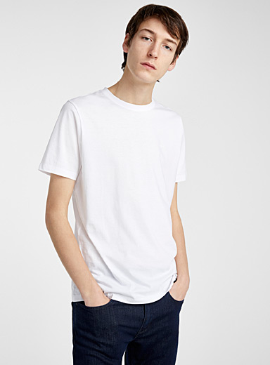 HUGO White Doro tee for men