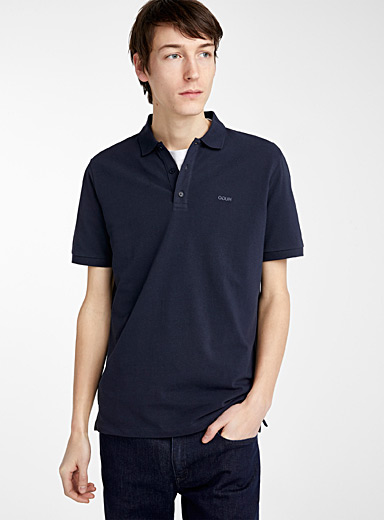 HUGO Dark Blue Donos polo for men