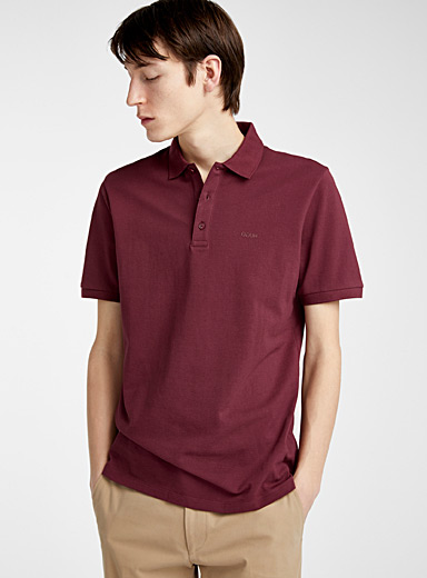HUGO Ruby Red Donos polo for men
