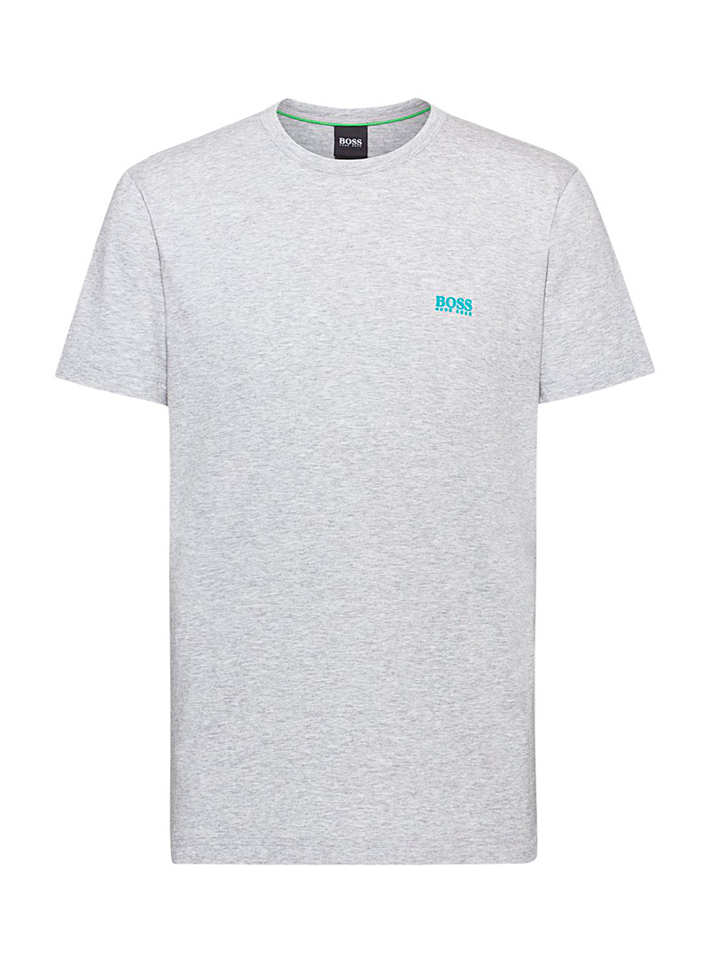 BOSS Grey Logo T-shirt for men