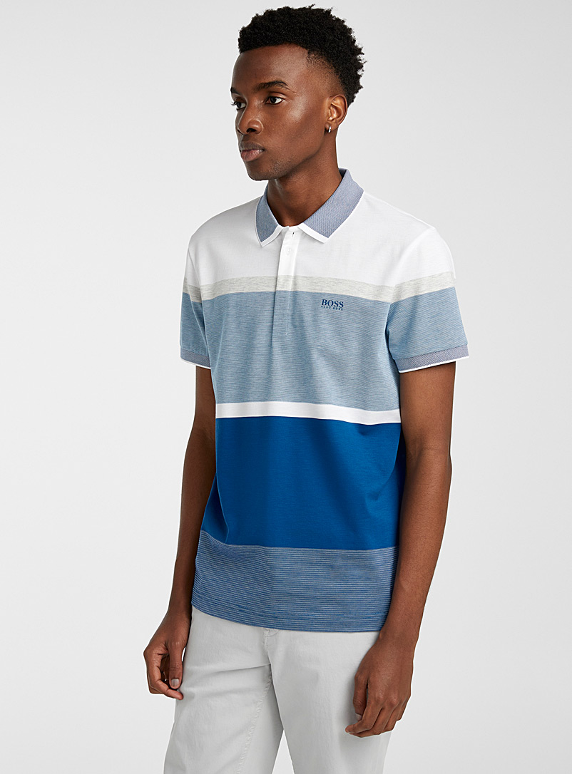 BOSS Blue Paddy 4 polo for men