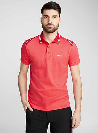 Athletic detail polo
