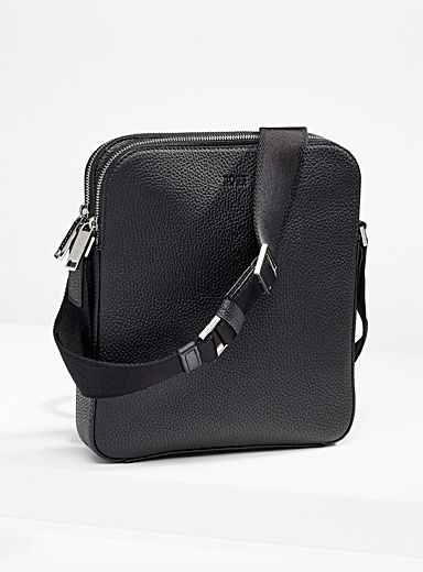 Crosstown pebbled leather shoulder bag