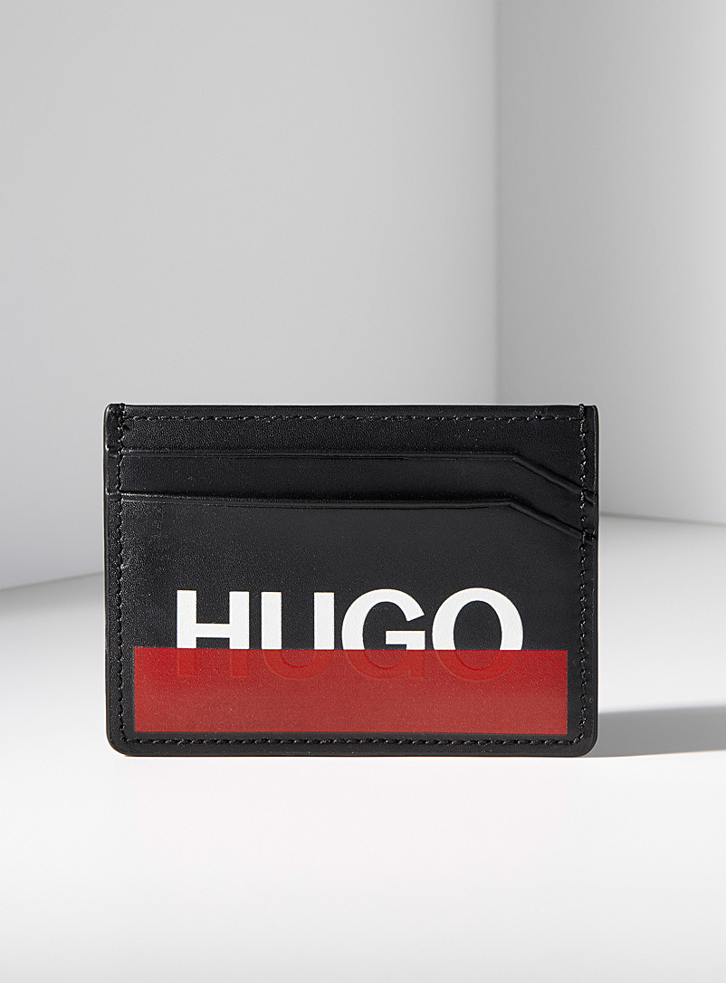 Roteliebe card holder - Hugo Boss - Black
