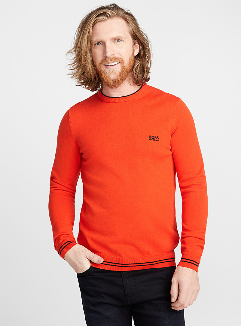 Le pull signature - Cols ronds - Orange