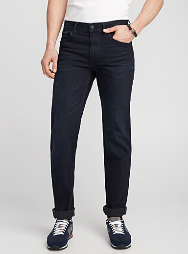 High-performance indigo jean  Straight fit