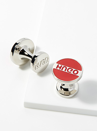 Rounded cufflinks