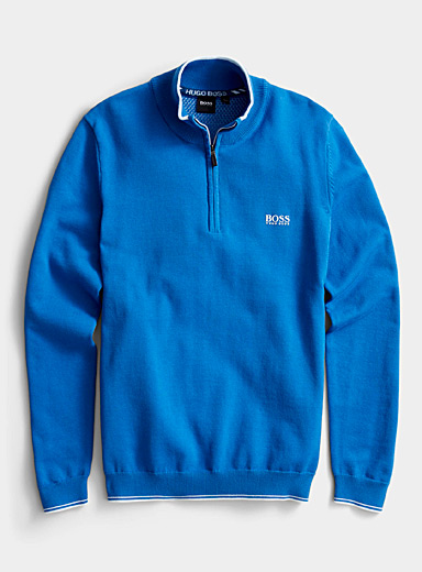 BOSS Blue Zimex sweater for men