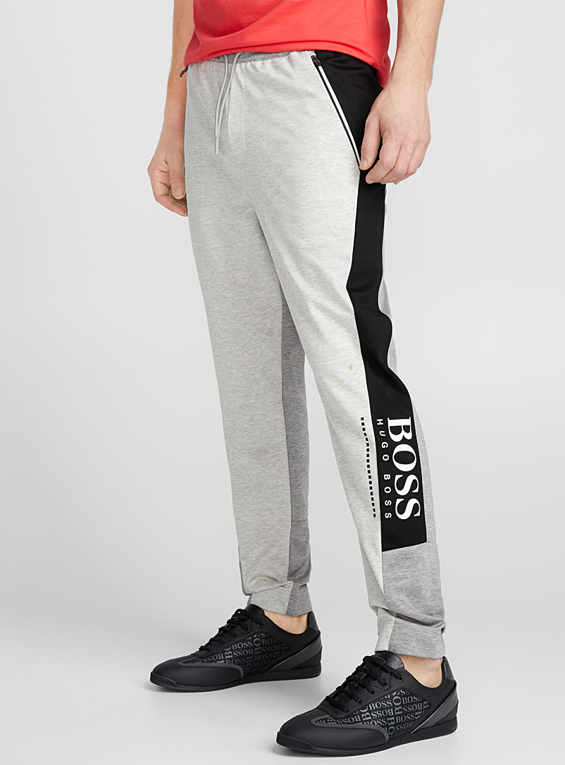 Modern block sweatpant - Joggers - Grey