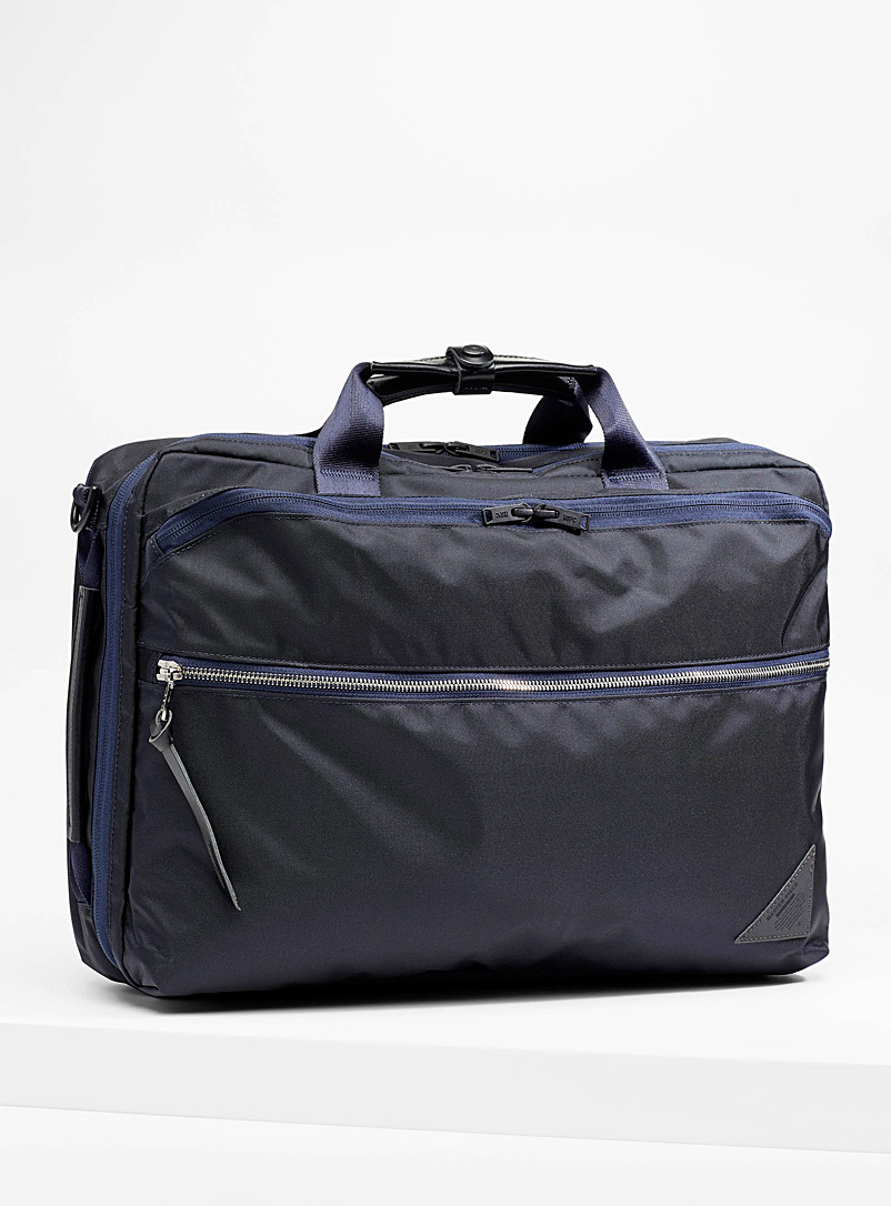 Master-Piece Marine Blue Various convertible case for men