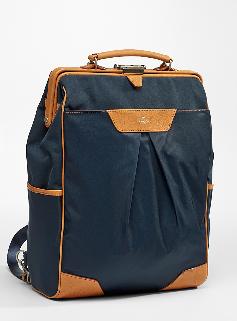 Master-Piece Marine Blue Tact backpack for men