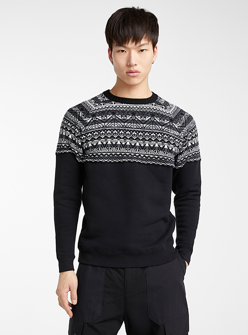 contrasted-jacquard-sweater