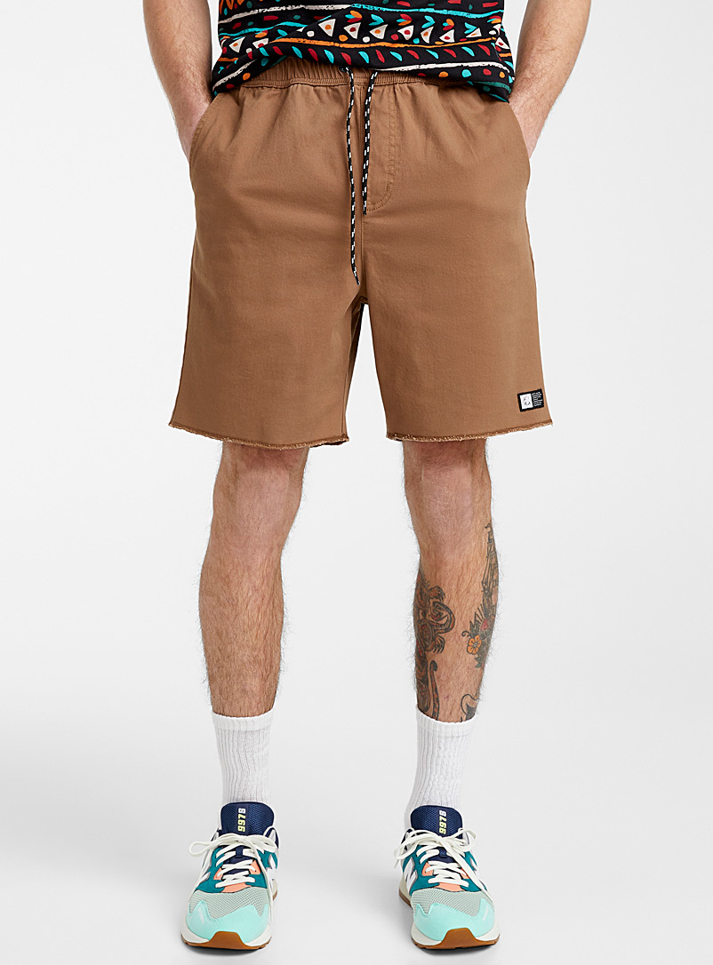 Lira Fawn Overcast trim pull-on short for men
